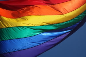 Photo: rainbow flag