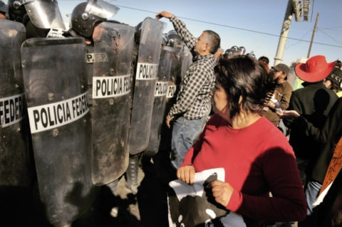 Civil Society at OECD event in Mexico rejects repression in Oaxaca - Protection