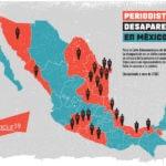 México: 23 periodistas desaparecidos en doce años