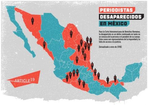 México: 23 periodistas desaparecidos en doce años - Protection