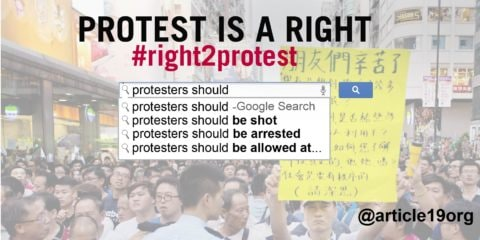 Protests: Have we got this right? - Civic Space