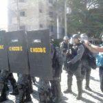 Brasil: Represión de manifestantes el primer día de la Copa Mundial