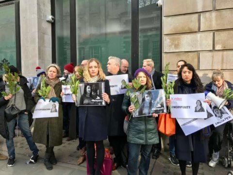 Event: Pursuit of justice for Daphne Caruana Galizia - Protection