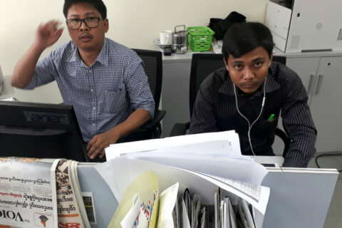 Myanmar: Yangon court charges Reuters journalists, dealing another blow to press freedom - Civic Space
