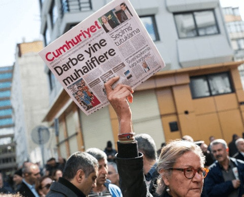 Turkey: Cumhuriyet convictions strike a further blow to the rule of law   - Protection