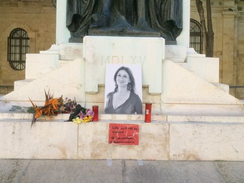London vigil: No justice two years on for Daphne Caruana Galizia - Protection