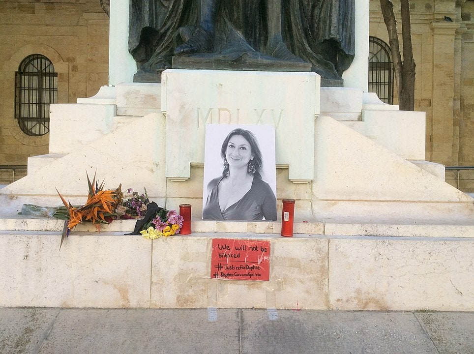 London vigil: No justice two years on for Daphne Caruana Galizia - ARTICLE 19