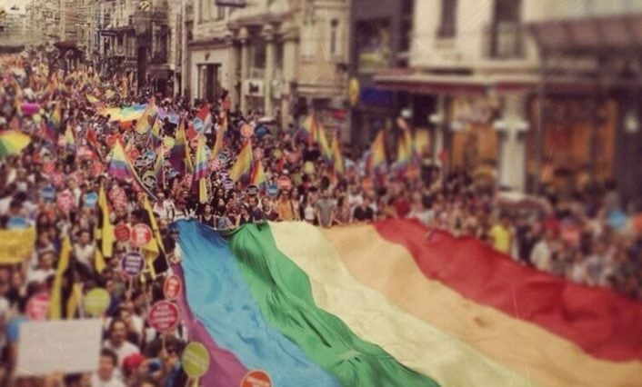 Istanbul pride parade