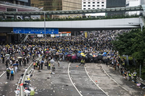 Hong Kong: Authorities must uphold the right to protest - Civic Space