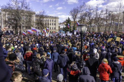 Russia: Police must release protesters detained during Moscow rally for fair election - Civic Space