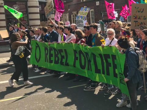 UK: High Court decision finds police ban on Extinction Rebellion was unlawful - Civic Space
