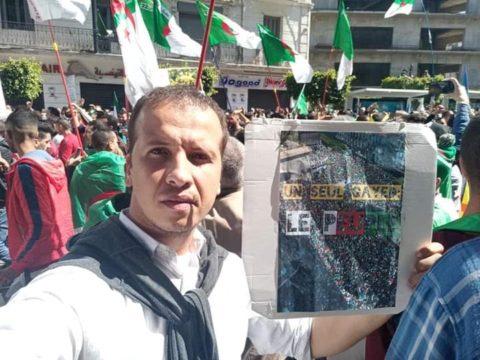 L'Algérie : ARTICLE 19 appelle à la mise en liberté immédiate du militant algérien Brahim Douadji -
