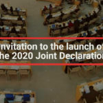 Online Event: Join Special Rapporteurs in the launch of the 2020 Joint Declaration