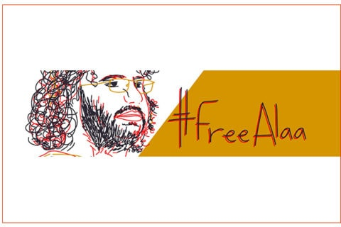 Egypt: Egyptian activist Alaa Abdel Fattah on hunger strike protesting his continued illegal detention -