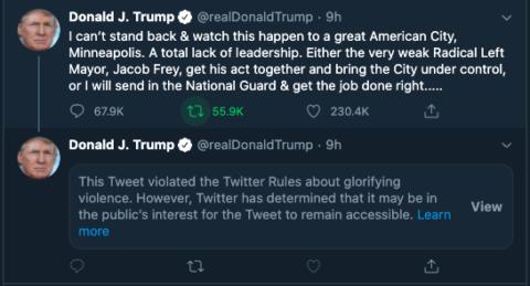 Social media: Was Twitter right to mark up Trump's tweets? - Digital
