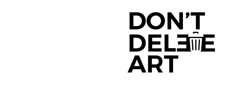 the dont delete art logo