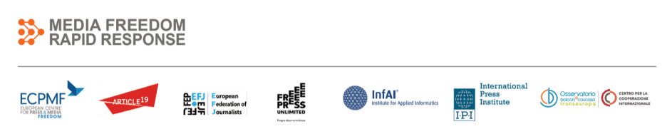 Media Freedom Rapid Response logo
