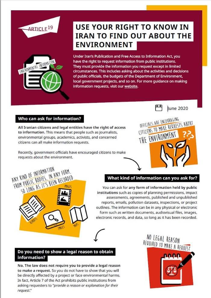 Environment factsheet image