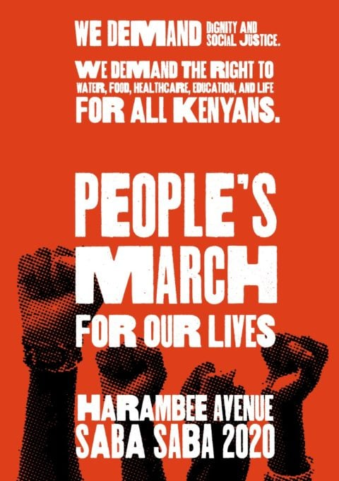 Kenya: Police must protect protesters during the SabaSaba March - Protection