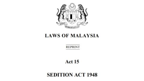 Malaysia: Stop policing online dissent, repeal the Sedition Act - Civic Space