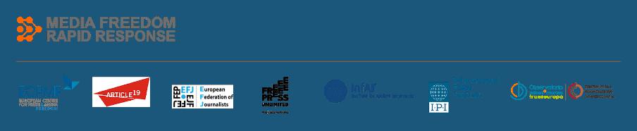 Media Free Rapid Response logos