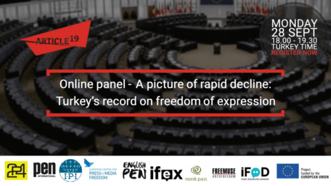 A picture of rapid decline: Turkey's record on freedom of expression – Online Panel - Protection