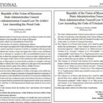 Myanmar: Penal Code amendments portend long-term repression