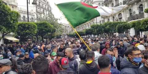 Algeria: Calls for international community to do more as Algerians mark anniversary of protests - Civic Space