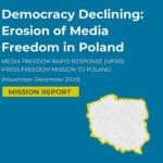 MFRR Report: Erosion of Media Freedom Gathers Pace in Poland