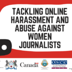 Event: Tackling online harassment and abuse against women journalists