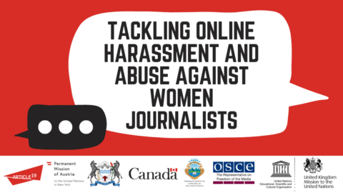 Event: Tackling online harassment and abuse against women journalists - Protection