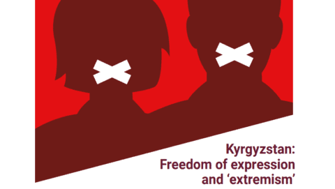 Kyrgyzstan: Report on freedom of expression and 'extremism' - Protection