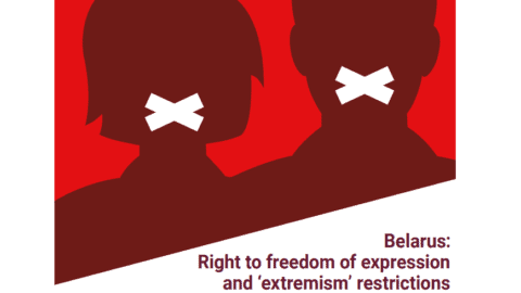 Belarus: Report on the right to freedom of expression and 'extremism' restrictions - Civic Space