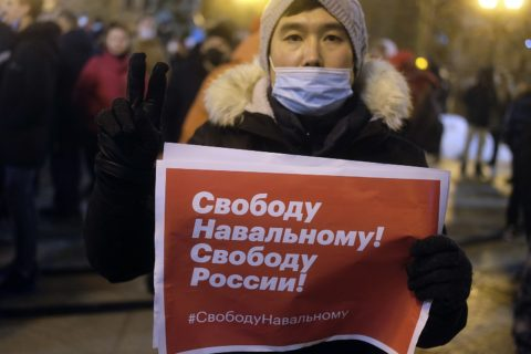"""Russia: Navalny movement could be labelled """"extremist"""" behind closed doors - Civic Space"""