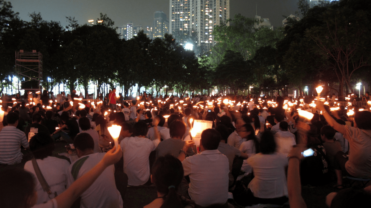 Victoria Park Vigil