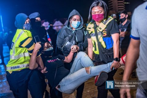 Malaysia: Arrest of vigil attendees is government's latest act of harassment against Lawan protesters - Civic Space