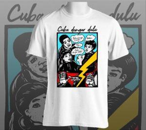 Cuba dengar dulu T-shirt