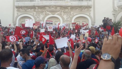 Tunisia: Protesters attack journalists covering demonstrations - Protection